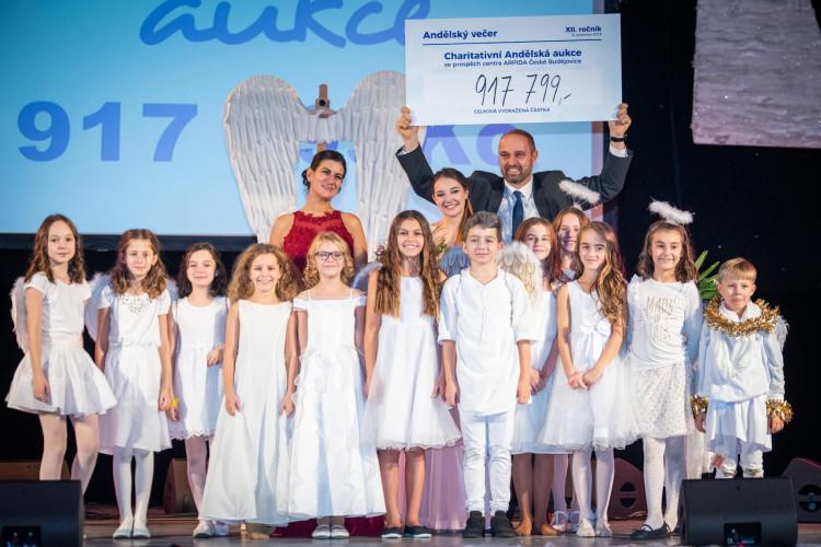 Andělská aukce přispěla na charitativní účely dalším milionem korun