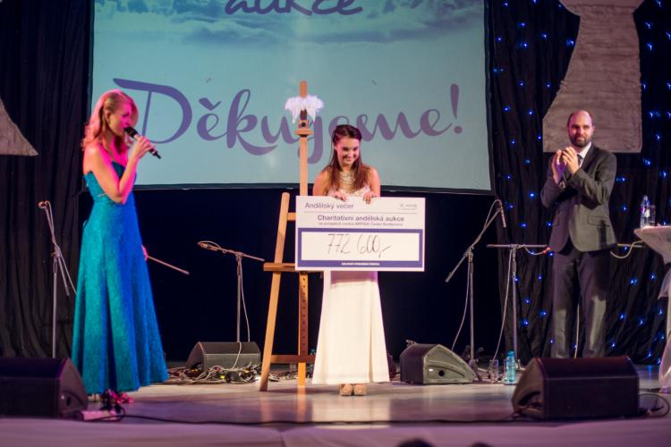 Při devátém ročníku Andělské aukce se podařilo vybrat téměř 800 tisíc korun!