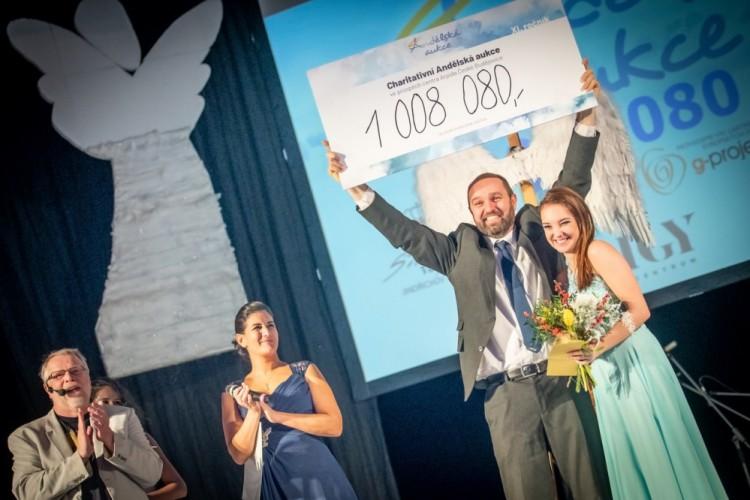 Charitativní Andělská aukce vynesla více než milion korun