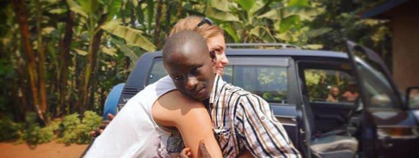 Rwanda - návštěva adoptovaného dítěte